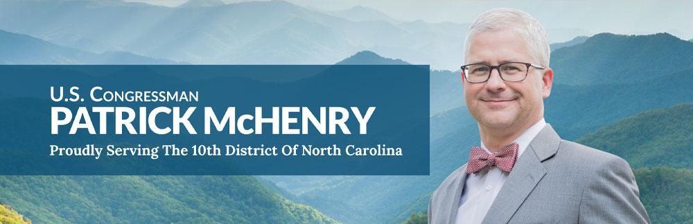 Representative Patrick McHenry