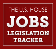 U.S. House Jobs Legislation Tracker