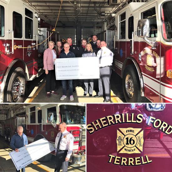 Sherrills Ford Terrell Fire and Rescue Grant Presentation