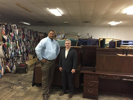 Mchenry donates office furniture to asheville rescue for Furniture u district